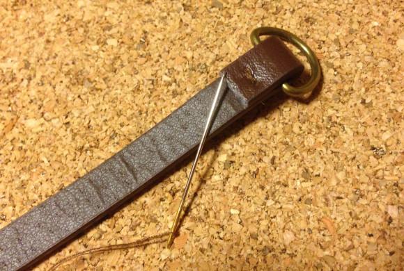 針で縫うところ