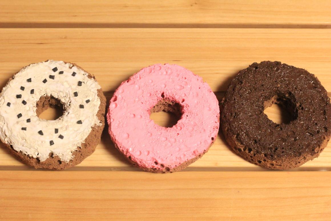 ドーナツのスクイーズの作り方