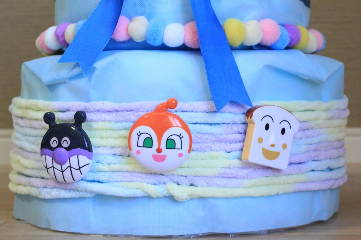 おむつケーキの下段