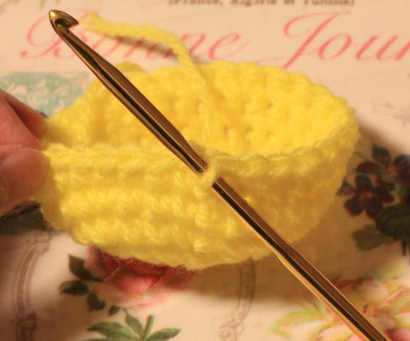 6~7段目の編み方