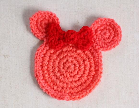 ミニーマウス型