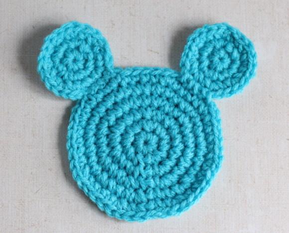 ミッキーマウス型