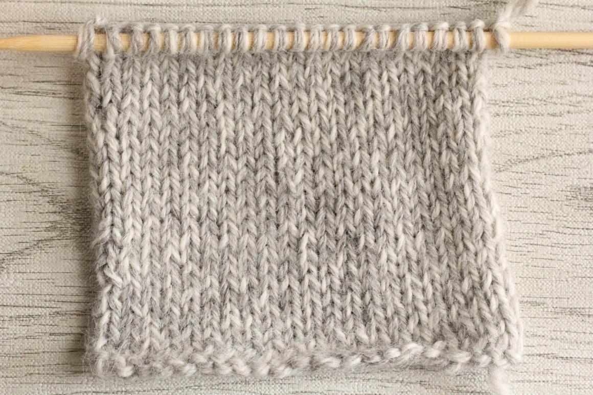 メリヤス編み